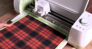 Cricut Machine with Plaid